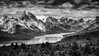 Alone in the Rockies (A Camera Story) Tags: alberta canada rockies canadianrockies jasperprovincialpark provincialparks glacier malignelake hiking sonydslta99 sony70300mmf4556g blackandwhite