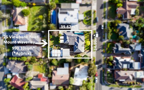 25 Viewbank Rd, Mount Waverley VIC 3149