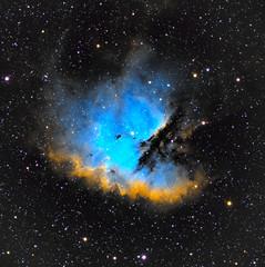 NGC281 PAC-MAN Nebula (eBear Foto) Tags: pacman nebula astro astrophotography ngc281 astrometrydotnet:id=nova2346652 astrometrydotnet:status=solved asi asi1600mmc losmandy pixinsight explorescientific