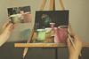 Tea time (sonia.sanre) Tags: tea tearoom canvas painting art photography colours relax te pintura cuadro arte acrylics