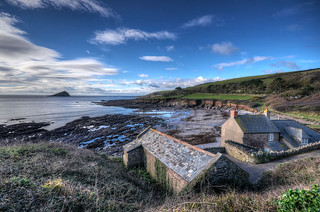 The Devon coast at Wembury