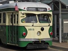 San Francisco, California (Jasperdo) Tags: sanfrancisco california trolley streetcar embarcadero car1015 eline
