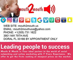 SOCIAL MEDIA MANAGEMENT  mouth2mouth.us (mouth2mouthusa) Tags: marketingonline socialmedia mouth2mouth