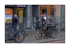 Under Arrest ... (junepurkiss) Tags: underarrest cuffed arrestedman police policeofficers shoreditch london