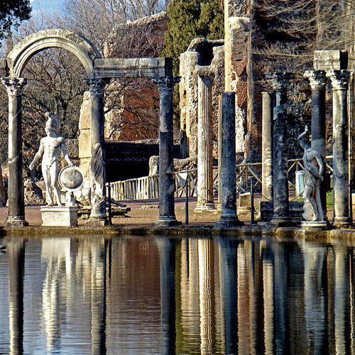 Canopus, Villa Adriana, Italia