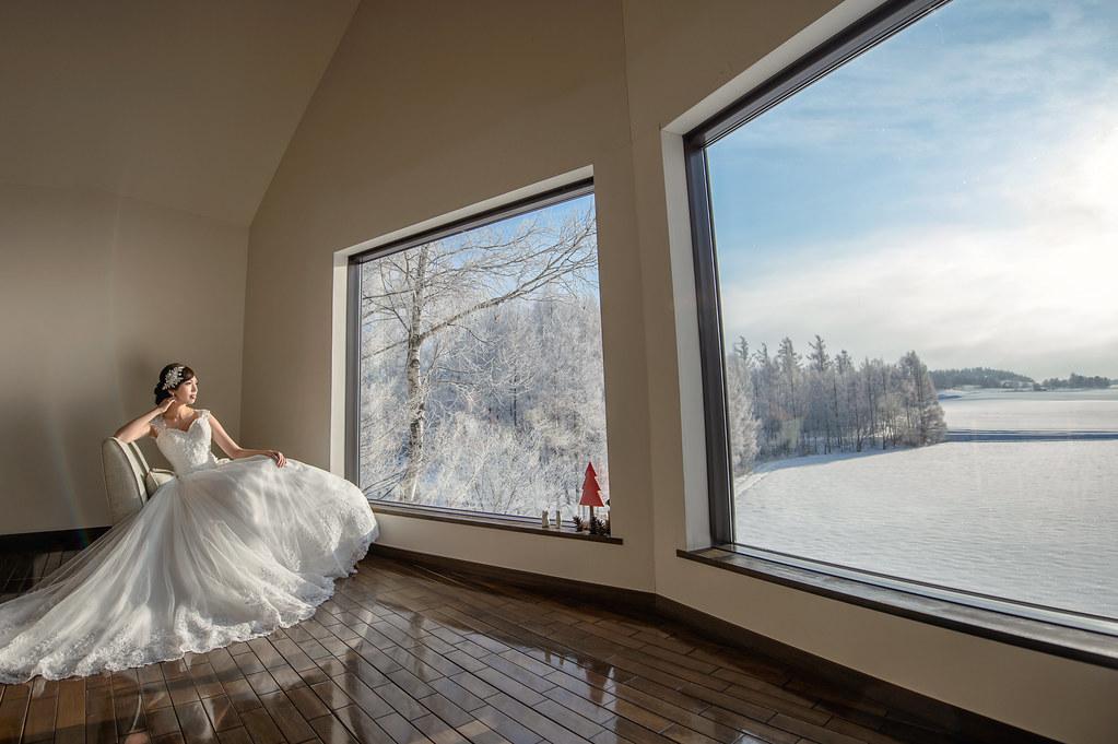 北海道婚紗 緩慢民宿婚紗拍攝 禮服: Toris Wedding