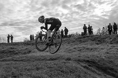 Ladies and Gentlemen, We are Floating in Space (Barnaby Nutt) Tags: cyclocross jump tail whip bike cycling pedalpower