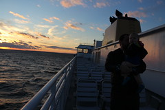 Sunset silhouette (quinn.anya) Tags: silhouette sunset ferry clouds marthasvineyard
