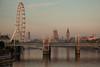 London Eye, 5am (Devon OpdenDries) Tags: london england uk britain british tourism travel city exploring canon5dmkii tourist thames river elizabethtower bigben clocktower eye