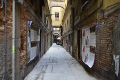 Back street dining, Venice (davidvines1) Tags: venice italy alley restaurant