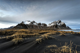 Stokksnes peninsula - Iceland.