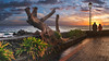 Rainy Sunset (Jörg Bergmann) Tags: islascanarias lagomera puestadesol vallegranrey atardecer canarias canaryislands clouds españa gf7 gomera lumix m43 mft panasonic rain sky spain sun sunset travel vacation puesta de sol 1232mm