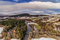 Cairngorms (Steve Samosa Photography) Tags: winter drones dronecamera drone droneshot aerial aerialview lowangleview cairngorms snow snowscene winterscene crathie scotland unitedkingdom gb