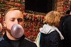 (CarbonNYC [in SF!]) Tags: rob seattle blowingabubble bubble chewinggum gum gumwall portrait carbonnyc