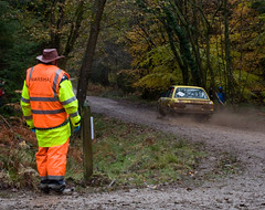 Wyedean Stages Rally 2017 (Alastair Cummins) Tags: wyedeanstagesrally r5 wrc rally rallying nikond90 mk2escort mitsubishievo fordfiestar5 citroenc2 mgzr motorsport gravel muddy overcast trees woods minicooper r2 subaruimpreza hondacivic drift slide powerslide