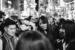 Halloween, Tokyo 2017 (Rait_Tuulas) Tags: halloween tokyo japan shibuya jaapan tänavafotograafia bw urban street streetphotography photography portrait
