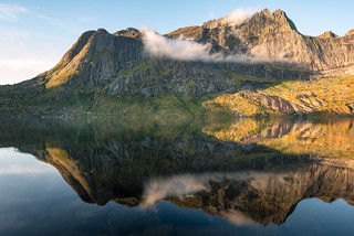 Lake Storvatnet Reflection