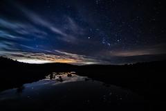 Sierra de San Pedro / Río Salor (AntonioOQ) Tags: salor río noche sierra de san cáceres paisaje largaexposición tokina estrellas