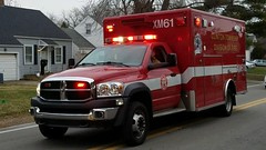 XM61 (Central Ohio Emergency Response) Tags: clinton township ohio fire division ambulance medic ems dodge ram