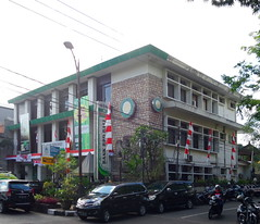 Bank BPD Bali (That's not the way Debbigail depicted (using album) Tags: denpasar bali building gedung architecture arsitektur office kantor bank