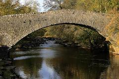 Stainforth Bridge in Autumn