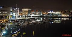 Titanic Quarter Marina- Belfast (red.richard) Tags: belfast night marina titanic quarter water boats