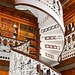 Des Moines Iowa ~ State Capitol Building ~ Library Staircase