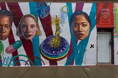 Chicago Street Art No. 2277 (benchorizo) Tags: mural streetart banias benchorizo romeobanias a6000 chicago wickerpark