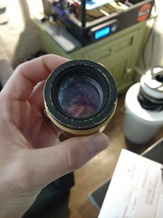 ISCO_OPTIC\ Lens Front (corsair.2014) Tags: vintage lens isco iscooptic german thrift thriftstore unknown experimental 3dprint 3dprinting maker lenses discovery