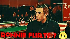 Ronnie O'Sullivan FLIRTS with Referee ? He's Got Charm Of course (akeelmansoor) Tags: ronnie osullivan flirts with referee hes got charm of course