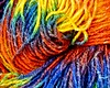 Colorful wool (Maarten Kleijkamp) Tags: colorful wool colors colours textile closeup macro