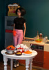 Thanksgiving (sadeyeddoll) Tags: girlfromintegrity poppyparker integritytoys doll kitchen holiday thanksgiving meal feast rement barbie mattel sindy miniatures miniature food turkey pie dishes cooking nostalgia 80s