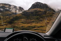 Living in the car has its advantages. New garden everyday is the one of many. (davidsedlacek) Tags: highlands walkhighlands scotland tranquility tranquilscene tranquil exploremore explore nature mountains landscape carview car view glencoe
