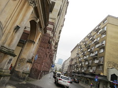 Warsaw street where Raphael Lemkin lived prior to WW2 (A-T-E-L) Tags: belarus poland whisperingbabushkas grodnodistrict raphaellemkin genocide internationallaw environmentalactivists bialowiezcaforest
