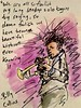 Nightclub (Mark Bonica) Tags: jazz purple trumpet sketch watercolor billycollins