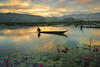 Lake Seloton Morning (lantaw.com) Tags: lakesebu lakeseloton southcotabato dawn dugoutcanoe tboli lake sunrise lotusflowers tribal