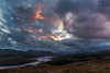 Loch Garry Sunset (Craig Hollis) Tags: loch garry scotland highlands storm clouds sunset colour landscape craighollis