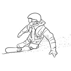 Freestyle Snowboarder takes Curve Sketch (Hebstreits) Tags: active artwork background boy drawing extreme freestyle fun hand handdrawn illustration isolated jump leisure lifestyle line man outdoor paper pencil resort season sketch ski snow snowboard snowboarder snowboarding speed sport stroke travel vector winter young