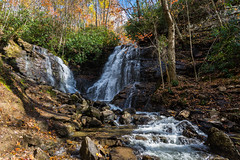 Appalachia Autumn (sniggie) Tags: appalachia appalachianautumn blueridgemountains northcarolina soccofalls waterfall