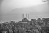 Abdulhamit Han Mosque (zulkifaltin) Tags: eğlence kahramanmaraş manzara teras city şehir maraş türkiye turkey akdeniz landscape mahalle seyirtepe tepe bw blackwhite siyahbeyaz dini