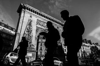 Silhouttes of Paris