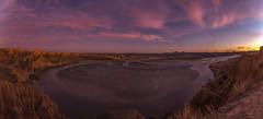 Anochecer en el Burujón. (Amparo Hervella) Tags: barrancasdelburujón toledo españa spain paisaje panorámica nube naturaleza color largaexposición d7000 nikon nikond7000 comunidadespañola nwn
