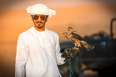 Falcon training in the desert near Dubai (Robert Haandrikman) Tags: red desert falcon training people locals rasalkhaimah unitedarabemirates ae camels camel birds travel holiday beautiful wings hunting flying arabic coffee dubai abu dhabi hiking offroad wanderlust animal wildlife