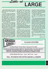 Plymouth Argyle vs Blackburn Rovers - 1991 - Page 5 (The Sky Strikers) Tags: plymouth argyle blackburn rovers barclays league division two home park programme one pound