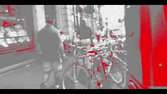 City Life II (Josh Rokman) Tags: people peoplewalking canonpowershotsx50hs abstract abstractvideo boston harvardsquare cambridge videoart art creative creativevideo musicvideo