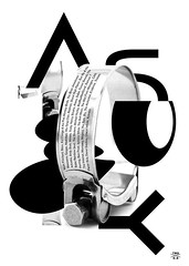 TBDxES 10 Tunes (George Strouzas) Tags: tbdxes tbd thebirthdaysdesign athens thessaloniki georgestrouzas konstantinayiannakopoulou eleftheriastraka playlist tunes music typography type poster black white 10 greece tight