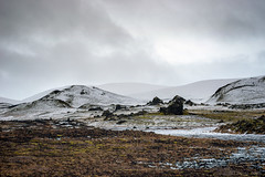 Unpolished earth (OR_U) Tags: 2017 oru iceland landscape ice snow bjork rough autumn fjallabaki