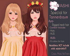 [^.^Ayashi^.^] Aya hair special for Tannenbaum (Ikira Frimon) Tags: rigged hud anime m3 utilizator nice head mesh ayashi doll outfit hair blogger costume frimon ikira follow post blog fashion sl life second event girl beautifully special exclusive tsg kawaii kawai cute hairs sensuality lovely sexually cosplay secondlife ears wavy horn horns quiff forelock bang bow accessory headbands rim hairstyle ayahairandheaddressspecialfortannenbaum aya headdress tannenbaum averagelength medium long