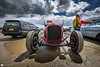 Pendine sands, Hot rod event 2017 (technodean2000) Tags: pendine sands hot rod car for sale parked people nikon d810 lightroom uk