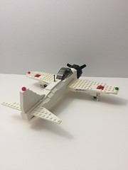 Zero back side view (TheMachine27) Tags: lego zero wwii japanese fighter airplane mitsubishi military a6m